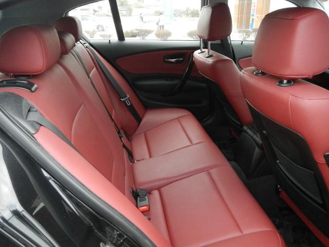 BMW BMW 116i OP赤革シート 社外HDDナビ フルセグTV