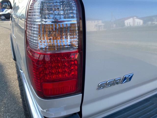 SSR-X 4WD ディーゼルターボ 社外16インチホイール タイミングベルト交換済 ナビTV(24枚目)