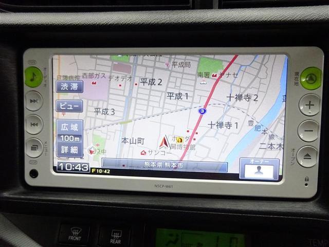 トヨタ アクア S ナビ TV ETC