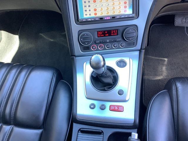 2.2JTSセレスピードディスティンクティブ 純正18インチホイール 純正黒レザーシート AT限定免許運転可能MTモード付 6セレスピードAT ナビテレビ ETC ドラレコ バックモニター(15枚目)