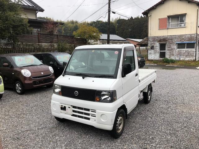 日産 クリッパートラック 5速マニュアル車 2WD