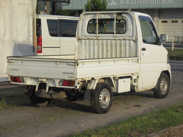 三菱 ミニキャブトラック 4WD エアコン 三方開 H L 調節