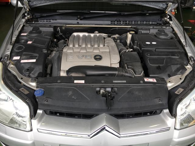 シトロエン シトロエン C5 V6エクスクルーシブ パワーシート 本革シート HDDナビ