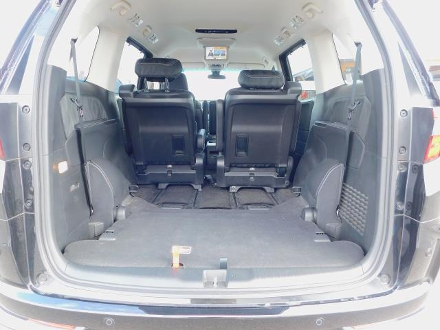 ハイブリッドアブソルート・EXホンダセンシング ・ナビTV・ETC・両側パワースライドドア・後席オットマンシート・フリップダウンモニター・シートヒーター・クルーズコントロール・サンシェード・全方位カメラ・コーナーセンサー・100V電源(6枚目)