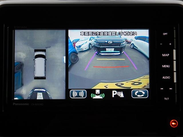 リヤパーキングセンサー付♪障害物を音とインジケーターで知らせてくれます♪※全方位&後方カメラ映像
