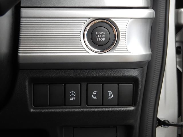 鍵の抜き差しが要らない便利なプッシュスタート♪アイドリングストップOFFスイッチと両側電動スライドドアスイッチです♪