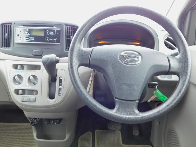 L 走行57800km 純正CD アイドリングストップ キーレス&スペアキー ETC 車検整備付(4枚目)