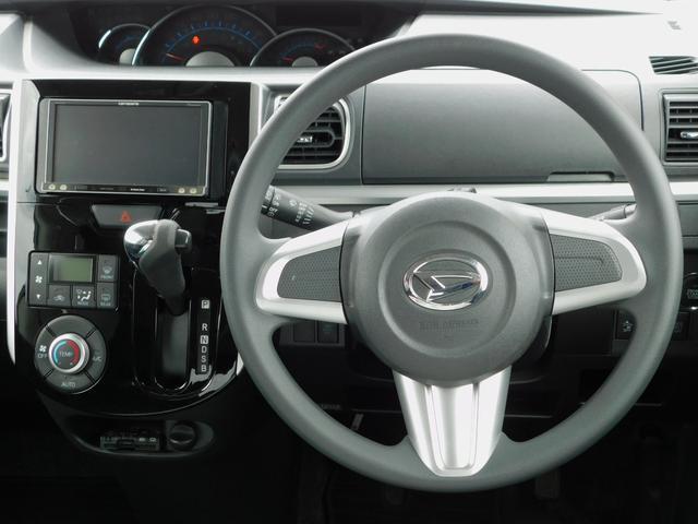 カスタムX SA ナビ TV CD DVD SD BluetoothAudio 左側電動スライドドア 衝突軽減機能 前方誤発進抑制機能 アイドリングストップ 純正14インチアルミホイール 車検整備付 プッシュスタート(2枚目)