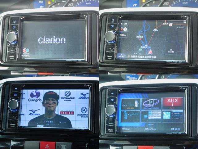 Gスペシャル クラリオン ナビ TV CD DVD BluetoothAudio キーフリー アイドリングストップ 左側電動スライドドア フォグライト(3枚目)
