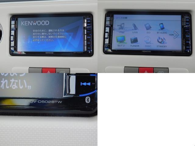 ココアX KENWOODナビ TV CD DVD BluetoothAudio バックカメラ キーフリー スマートキー 電格ミラー(14枚目)