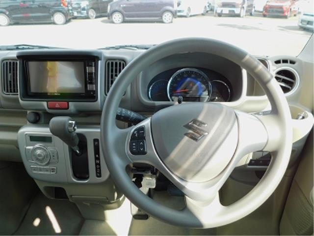 PZターボ 純正ナビ TV CD DVD BluetoothAudio ステアリングリモコン ETC 左側電動スライドドア レーダーブレーキ 純正14インチアルミ プッシュスタート スマートキー(8枚目)