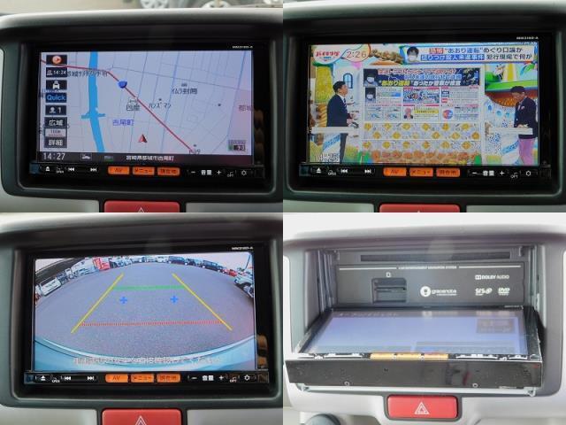 E 純正ナビ TV CD DVD ナビ連動ドライブレコーダー バックカメラ ETC 左側電動スライド 衝突軽減ブレーキ フォグライト プッシュスタート スマートキー2ケ 走行14400km(9枚目)