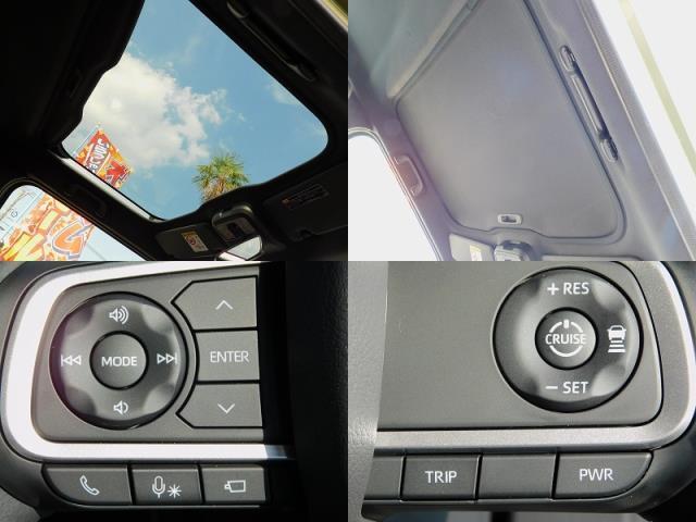 Gターボ ターボ車 クルーズコントロール 衝突軽減ブレーキ クリアランスソナー 全方位モニター用カメラ ガラスルーフ ルーフレール メッキパック 純正15インチアルミ 前席シートヒーター 走行50km(13枚目)