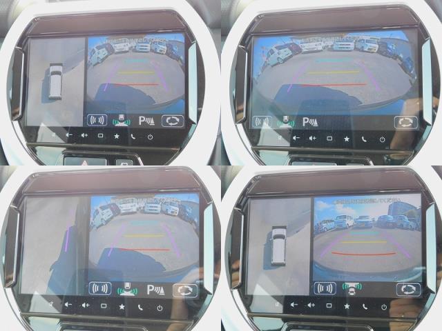ハイブリッドX 純正9インチナビ TV DISC BluetoothAudio 全方位モニター ドラレコ 前席シートヒーター 純正15インチアルミ ETC 衝突軽減ブレーキ ソナー 車線逸脱装置(13枚目)