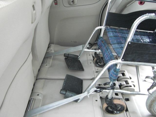 G 車いす仕様車 スローパー ウインチ 純正CD 福祉車両(9枚目)