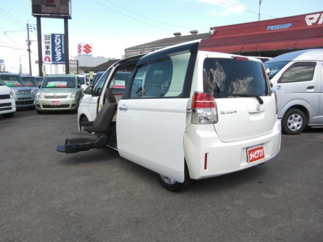 X 助手席リフトアップシート Bタイプ ナビテレビ 福祉車両(7枚目)