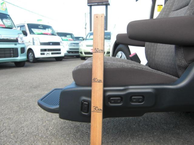 X 助手席リフトアップシート Bタイプ ナビテレビ 福祉車両(9枚目)