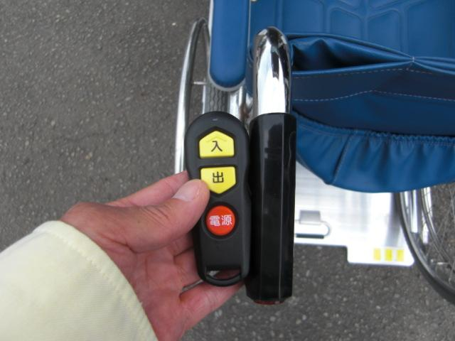 G 車いす仕様車スローパーウインチ CD キーレス 福祉車両(8枚目)