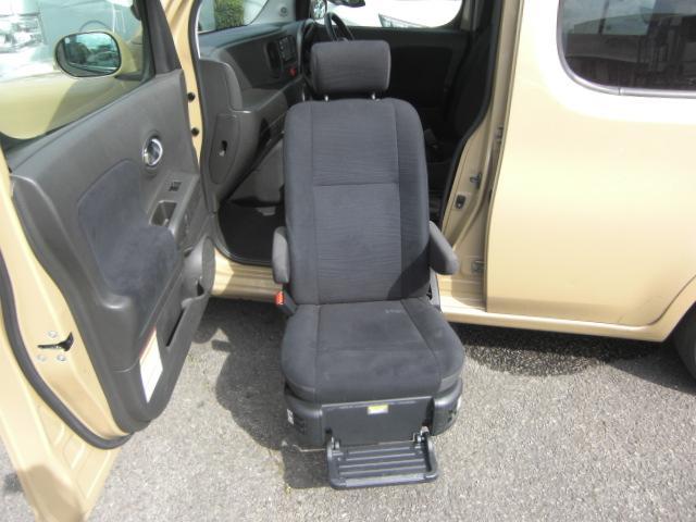 15X Vアンシャンテ助手席Sシート車いす収納装置 福祉車両(6枚目)