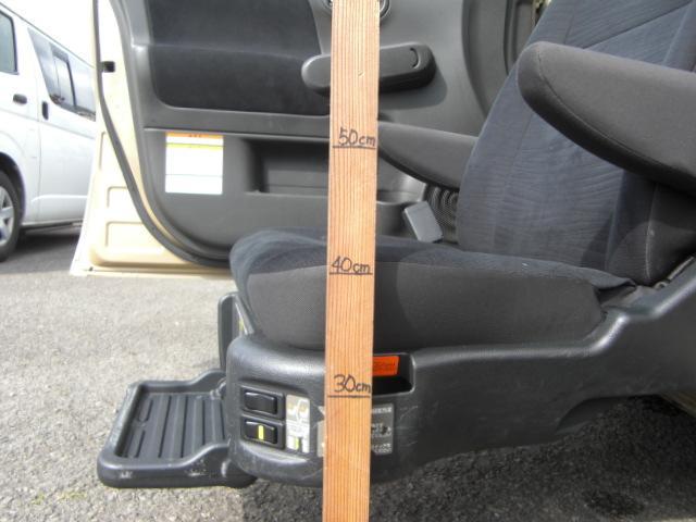 15X Vアンシャンテ助手席Sシート車いす収納装置 福祉車両(9枚目)