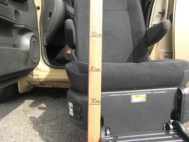 15X Vアンシャンテ助手席Sシート車いす収納装置 福祉車両(10枚目)