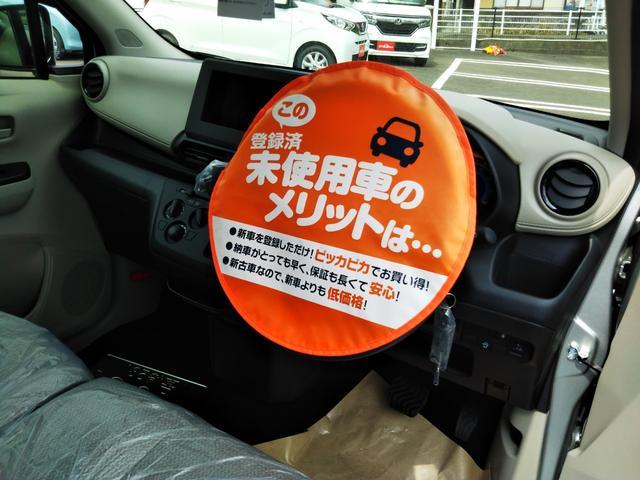 S 届出済未使用車 エマージェンシーブレーキ コーナーセンサー キーレスエントリー 集中ドアロック ベンチシート プライバシーガラス(22枚目)