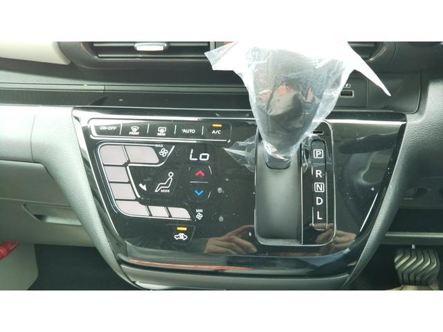 X 届出済未使用車 エマージェンシーブレーキ コーナーセンサー バッグビューモニター(ルームミラー) 特別塗装色 スマートキー プッシュスタート アルミホイール14インチ ベンチシート プライバシーガラス(11枚目)