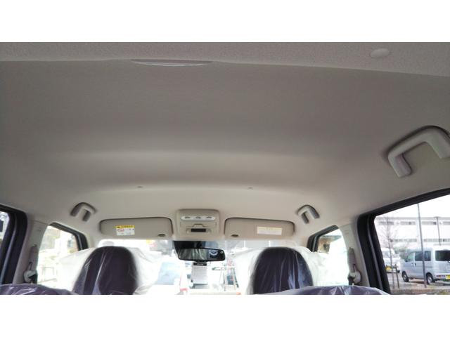 X 届出済未使用車 エマージェンシーブレーキ コーナーセンサー バッグビューモニター(ルームミラー) 特別塗装色 スマートキー プッシュスタート アルミホイール14インチ ベンチシート プライバシーガラス(12枚目)