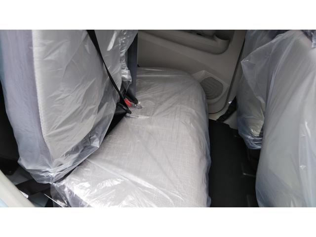 X 届出済未使用車 エマージェンシーブレーキ コーナーセンサー バッグビューモニター(ルームミラー) 特別塗装色 スマートキー プッシュスタート アルミホイール14インチ ベンチシート プライバシーガラス(14枚目)