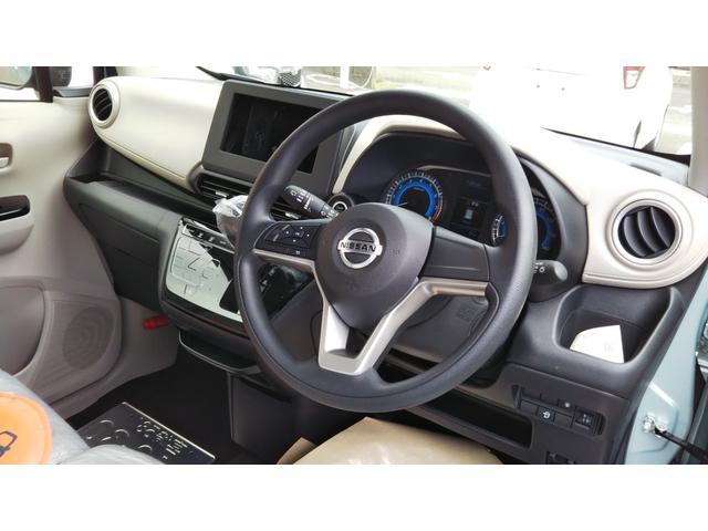 X 届出済未使用車 エマージェンシーブレーキ コーナーセンサー バッグビューモニター(ルームミラー) 特別塗装色 スマートキー プッシュスタート アルミホイール14インチ ベンチシート プライバシーガラス(15枚目)