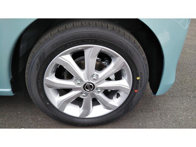 X 届出済未使用車 エマージェンシーブレーキ コーナーセンサー バッグビューモニター(ルームミラー) 特別塗装色 スマートキー プッシュスタート アルミホイール14インチ ベンチシート プライバシーガラス(19枚目)