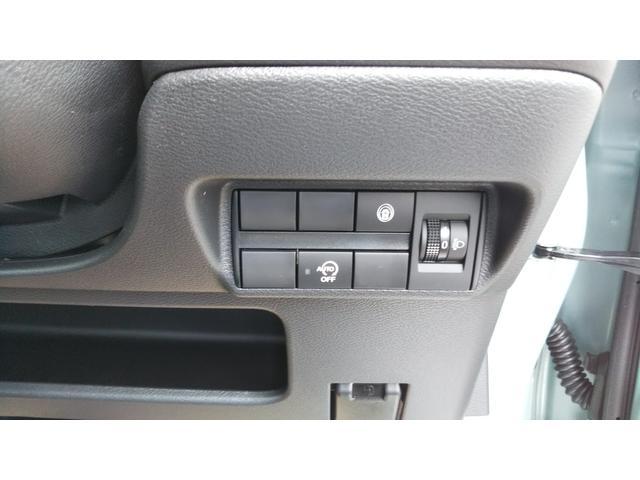 X 届出済未使用車 エマージェンシーブレーキ コーナーセンサー バッグビューモニター(ルームミラー) 特別塗装色 スマートキー プッシュスタート アルミホイール14インチ ベンチシート プライバシーガラス(33枚目)