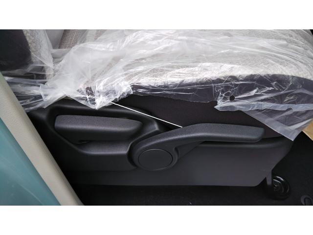 X 届出済未使用車 エマージェンシーブレーキ コーナーセンサー バッグビューモニター(ルームミラー) 特別塗装色 スマートキー プッシュスタート アルミホイール14インチ ベンチシート プライバシーガラス(39枚目)