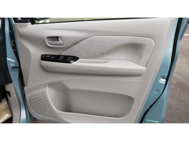 X 届出済未使用車 エマージェンシーブレーキ コーナーセンサー バッグビューモニター(ルームミラー) 特別塗装色 スマートキー プッシュスタート アルミホイール14インチ ベンチシート プライバシーガラス(40枚目)