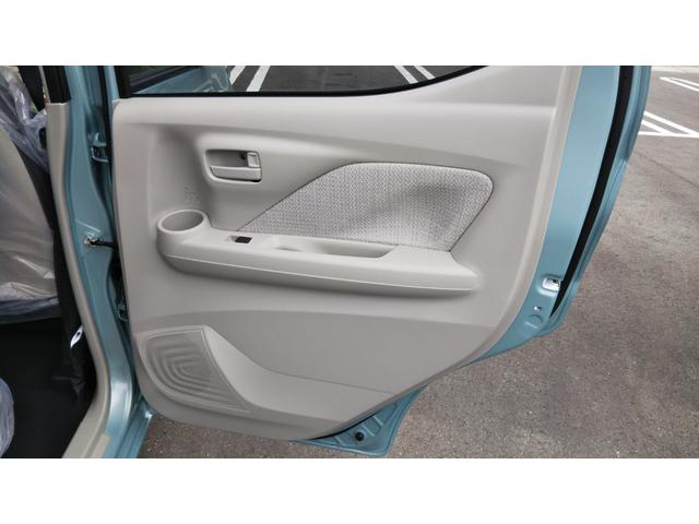 X 届出済未使用車 エマージェンシーブレーキ コーナーセンサー バッグビューモニター(ルームミラー) 特別塗装色 スマートキー プッシュスタート アルミホイール14インチ ベンチシート プライバシーガラス(41枚目)