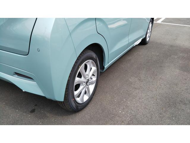 X 届出済未使用車 エマージェンシーブレーキ コーナーセンサー バッグビューモニター(ルームミラー) 特別塗装色 スマートキー プッシュスタート アルミホイール14インチ ベンチシート プライバシーガラス(50枚目)