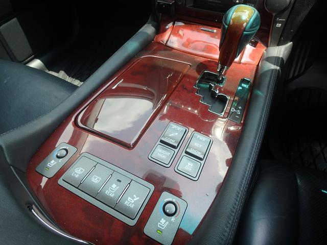 レクサス LS LS460 バージョンU Iパッケージ 純正フリップダウン