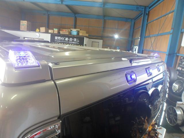 ジオバンナ24AW LEDライト 社外マフラー・ステップ(10枚目)