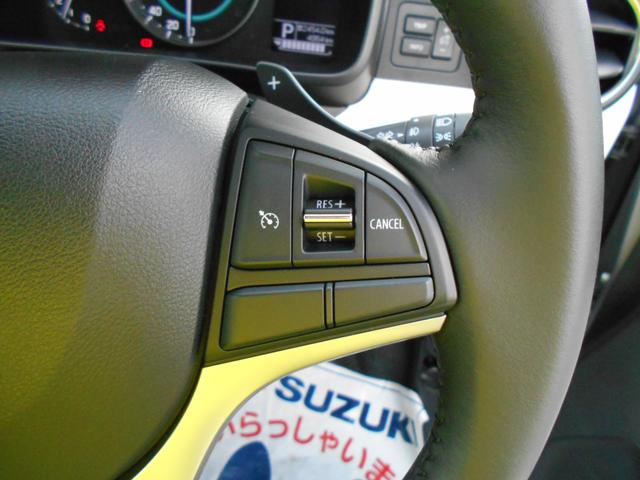 クルーズコントロールで高速運転も楽ちんです。