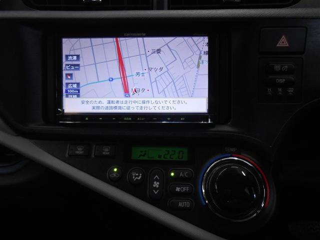 トヨタ アクア S ワンオーナー車 メモリーナビ地デジ ETC