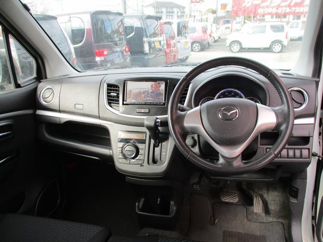 マツダ フレアカスタムスタイル XS 新品タイヤ4本 ナビ フルセグ Bluetooth
