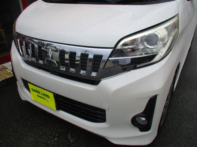 カスタムT ターボ車 両側電動スライドドア ナビ フルセグ Bluetoothオーディオ Bカメラ ETC HIDヘッドライト フォグランプ オートライト オートエアコン スマートキー プッシュスタート(3枚目)