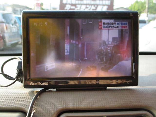 X ポータブルナビ TV CD ETC オートエアコン ウィンカーミラー スマートキー メインキー ベンチシート(11枚目)