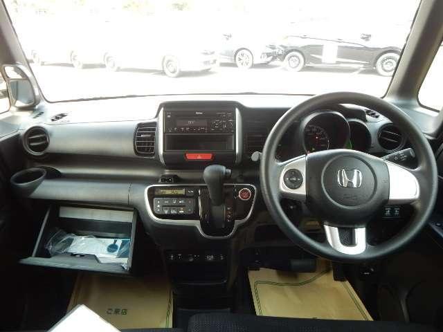 ホンダ N BOX G SSパッケージ 試乗車 禁煙車 CD HID ETC