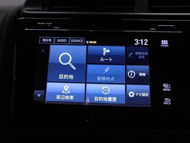 ホンダ フィットハイブリッド S ホンダセンシング 試乗車 禁煙車 メモリーナビ LED