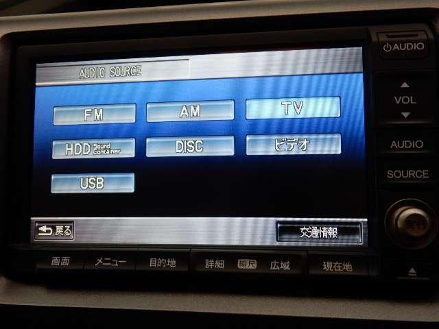 ホンダ ステップワゴン L HDDナビ リアカメラ ワンセグ ETC