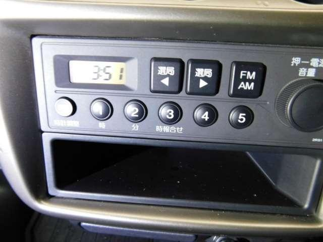 SDX 試乗車 禁煙車 AM FMラジオ(12枚目)