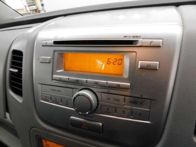CDチューナーを装備! デザインもオシャレです。