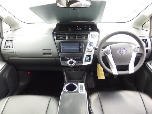 トヨタ プリウスアルファ S スマートキー バックカメラ メモリーナビ フルセグTV