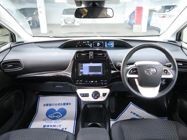 トヨタ プリウス S セーフティーセンスP 社外ナビ地デジTV バックカメラ